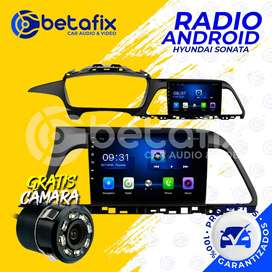 RADIO ANDROID HYUNDAI SONATA 2015/2019 GPS BT USB WIFI BETAFIX