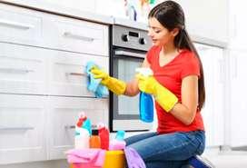 Se realizan limpieza del hogar
