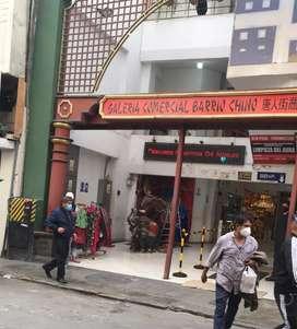 Vendo almacen galeria barrio chino