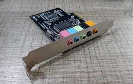 Tarjeta de Sonido digital 5.1 para computador de escritorio **Nuevas y selladas**