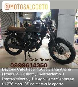 Moto Daytona Cafe Racer 150cc