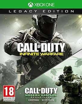 Call Of Duty Infinite Warfare Legacy Xbox One, Físico