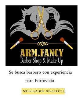 Se solicita barbero con experiencia
