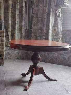 Vendo mesa ovalada