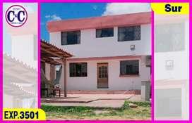 CxC Venta Casa  Terreno, San Martin, Sur de Quito, Exp. 3501