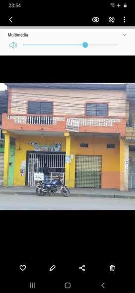 Vendo casa buena ubicacion comercial frente al municipio de el empalme