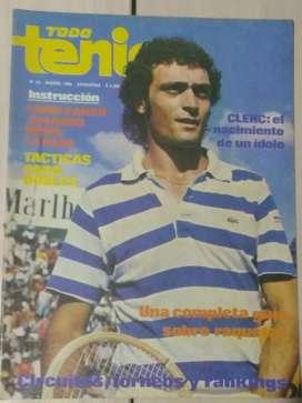 Revista Todo Tenis Año I I I Num.30 Marzo 1980 J.L.Clerc