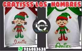 Polos navideños personalizados en Pucallpa