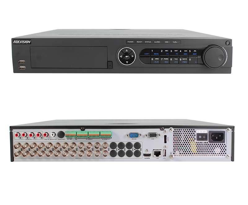 DVR 24 CANALES HIKVISION 720P / 1080P / 3MP 0