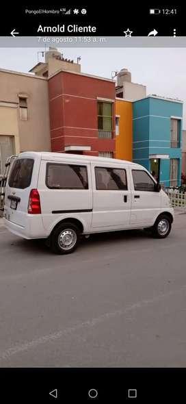 Alquiler de minivan N300 chevrolet