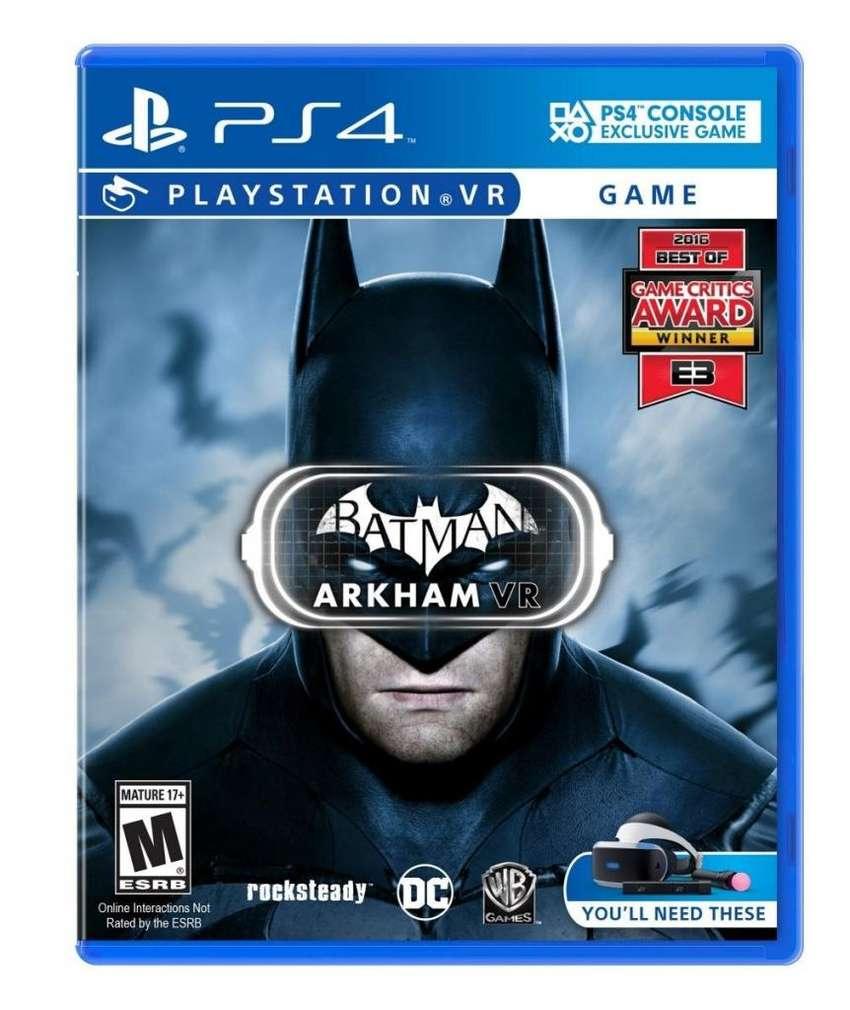BATMAN ARKHAM VR 0