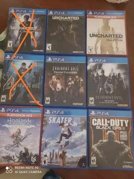 Juegos para PS4 cualquiera a 40