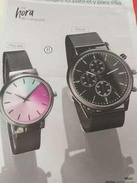 Set de relojes (hombre y mujer)