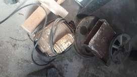 Motor 3/4 y engranajes  para mescladora de cemento...