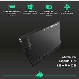 Lenovo Legion 5 15ARH05 nuevo y sellado.