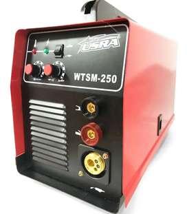 Equipo soldador inversor Mig y electrodo 250 amp
