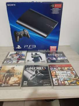 Ps3 super Slim - 250gb