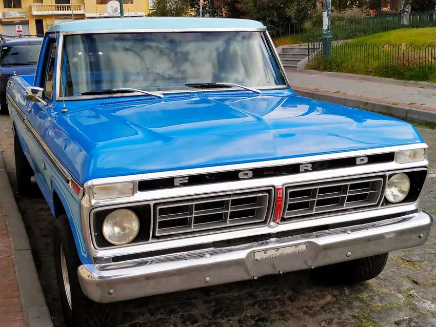 Vendo hermosa camioneta Ford 150 del 75 0