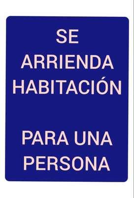 ARRIENDO HABITACION