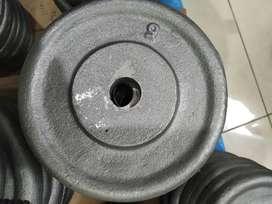 Discos de fundición pesas