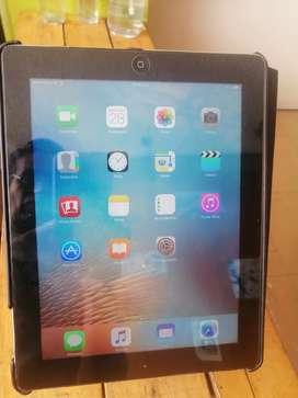 iPad 3 de 64gb sim card cargador estuche desgaste esquinas buen estado