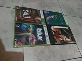 Oferta varios juegos de Xbox 360 a cinco cada uno  Soy de Guayaquil y hago