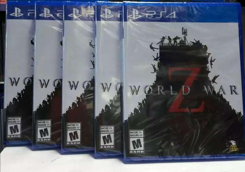 WORLD WAR Z PS4 NUEVO SELLADO 0