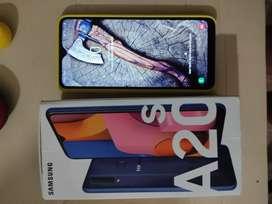 Samsung A20s 32gb y 3 ram en perfecto estado