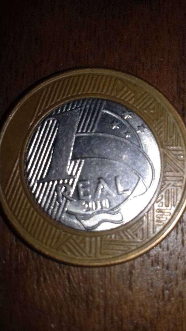 Moneda de 1 real. 0