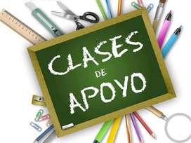 Clases particulares - Primaria - Secundaria - Universitarios