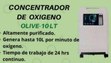 CONCENTRADOR DE OXIGENO 10L