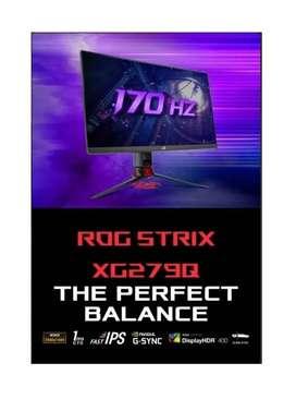 MONITOR ASUS ROG STRIX XG279Q 27 GSYNC 170HZ 1MS HDR-10 2K WQHD IPS NUEVOS SELLADOS MODITECPERU2025 PAGO CONTRAENTREGA