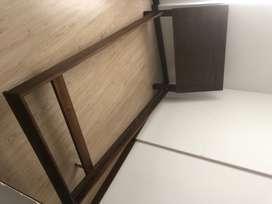 Cama sencilla 1.90 cm x1 mt