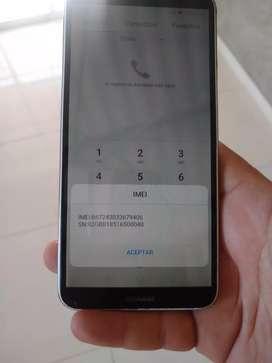 A la venta Huawei y7 2018