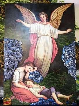 Se hacen murales para decoraciones en edificios y casas en salas, dormitorios donde el cliente lo desea.