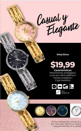 Reloj Diana dese $19.99