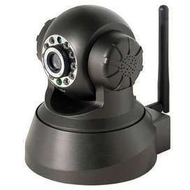 Seisa Camara Ip Con Pan Y Tilt, Wifi, Microfono Y Audio