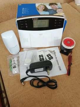 Alarma para casa con monitoreo celular