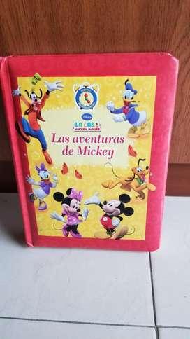 Libro de Cuentos Las Aventuras de Mickey