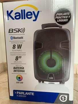 Parlante bluetooth kalley nuevo