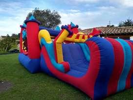 Alquiler de castillos inflables, chiquiteca, comidas rápidas, recreación, decoraciones, payasos, fiestas infantiles