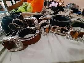 Cintos * varios * colores negro y marrón