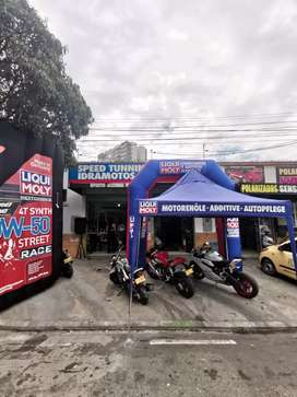 Vendo-permuto taller de motos motivo viaje