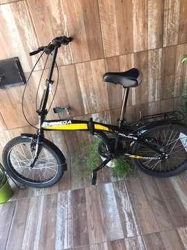 Bicicleta plegable TopMega