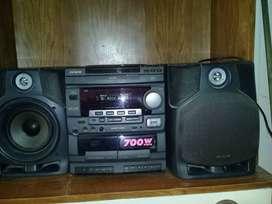 Equipo de audio AIWA 700W