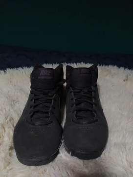 Nike Air VisiPro3 Negro HiTop Zapatos de baloncesto usadas