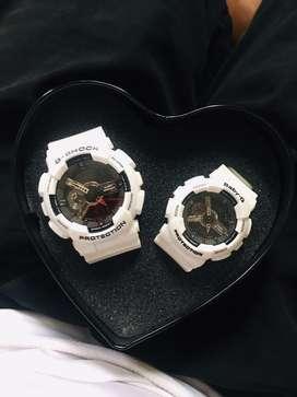 Se venden juego de relojes para pareja CASIO