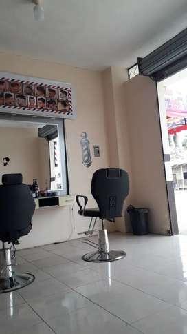 Espejo de barbería sillones para barbería