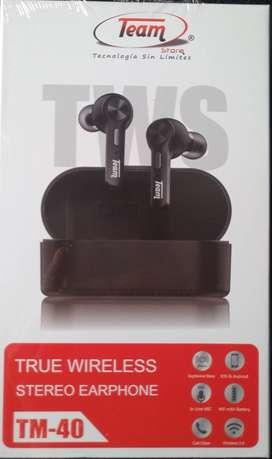Audifonos bluetooth TM 40