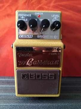 Pedal Fender '59 Bassman Boss | FBM-1